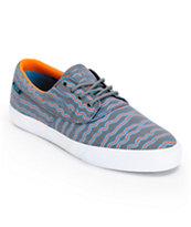 Earl Sweatshirt x Lakai Camby Grey Print Canvas Skate Shoe