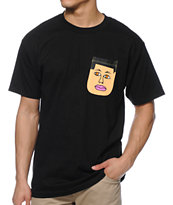 Earl Sweatshirt x Lakai Pockethead Black Pocket Tee Shirt