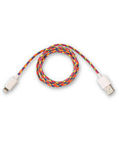 Eastern Collective Confetti Lightning iPhone 5 Cable