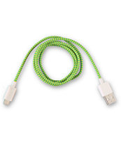 Eastern Collective Fluorescent Lightning iPhone 5 Cable