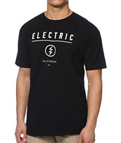 Electric Corp ID Black Tee Shirt