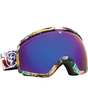 Electric EG2 East Side 2014 Blue Chrome Snowboard Goggles