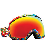 Electric EG2 James Haunt 2014 Bronze & Red Chrome Snowboard Goggles