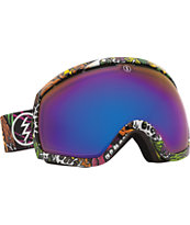 Electric EG2 Jimbo Phillips 2014 Bronze & Blue Chrome Snowboard Goggles