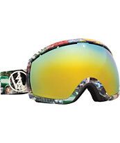 Electric EG2 West Side 2014 Gold Chrome Snowboard Goggles