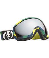 Electric EG2.5 Disoragnize Blue, Yellow & Green Snowboard Goggles