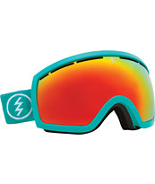 Electric EG2.5 The Real Teal 2014 Teal & Red Chrome Snowboard Goggles