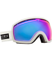 Electric EG2.5 White Tropic Rose & Blue Chrome Snowboard Goggles