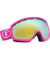 Electric EGB2S Punk Pink 2014 Bronze & Gold Chrome Snowboard Goggles