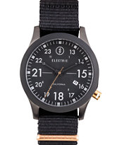 Electric FW01 Nato Black & Copper Watch