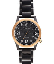 Electric FW01 Stainless Steel Black & Copper Watch