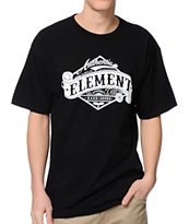 Element Academy Black Tee Shirt
