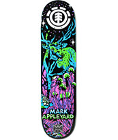 "Element Appleyard Neon Night 7.875"" Skateboard Deck"