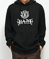 Element Bam Black Hoodie