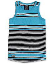 Element Boys Holmby Blue & Black Stripe Tank Top