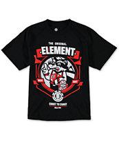 Element Boys Raccoon Black T-Shirt