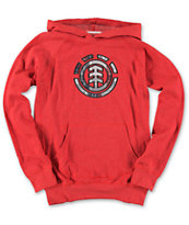 Element Boys Starsky Red Pullover Hoodie