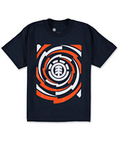 Element Boys Vortex Navy Tee Shirt