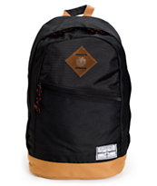 Element Camden Black & Brown Laptop Backpack