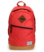 Element Camden Red & Brown Laptop Backpack
