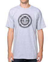 Element Continuous Heather Grey Tee Shirt