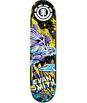 "Element Evan Neon Night 7.875"" Skateboard Deck"