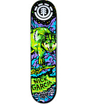 "Element Garcia Neon Night 8.0"" Skateboard Deck"