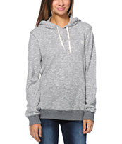 Element Girls Sequel Grey Overdyed Pullover Hoodie