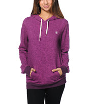 Element Girls Sequel Magenta Overdyed Pullover Hoodie