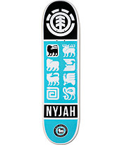 "Element Nyjah Ascend 8.0"" Skateboard Deck"