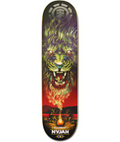 Element Nyjah Huston Smoke SIgnals 8.0 Skateboard Deck