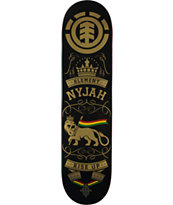 Element Nyjah Rise Up 8.0 Pro Skateboard Deck