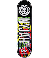 Element Nyjah Tie Dye 2 8.25 Skateboard Deck