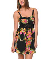 Element Paris Floral Print Dress