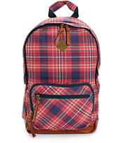 Element Sandpiper Firewood Plaid Backpack