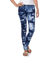 Element Talulah Tie Dye Navy Jeggings