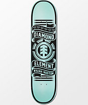 Element X Diamond Supply Co Nyjah Huston 8.0 Skateboard Deck