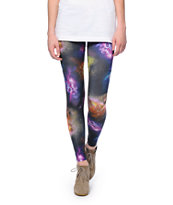 Element x Jac Vanek Skulls & Galaxy Print Leggings