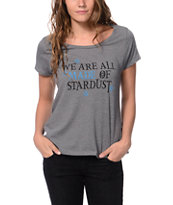 Element x Jac Vanek Stardust Grey Tee Shirt
