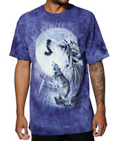 Element x The Mountain Full Moon Gravity Tie Dye T-Shirt
