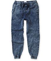 Elwood Acid Wash Jogger Pants