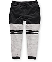 Elwood Mesh and Terry Stripe Jogger Pants