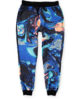 Elwood Oil Wash Sublimated Jogger Pants