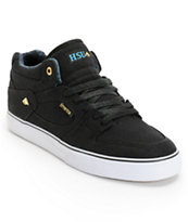 Emerica Hsu Black & Hawaiian Canvas Skate Shoe
