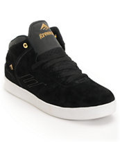 Emerica The Reynolds Black Suede Skate Shoe