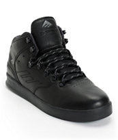 Emerica The Reynolds LX Black Ops Leather Skate Shoe