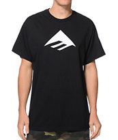 Emerica Triangle 7.0 Black Tee Shirt