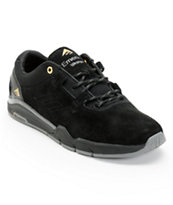 Emerica Westgate Black & Dark Grey Suede Skate Shoe