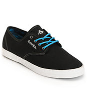 Emerica Wino Black Canvas & Aloha Tie Dye Shoe