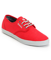 Emerica Wino Red & Grey Tie Dye Shoe
